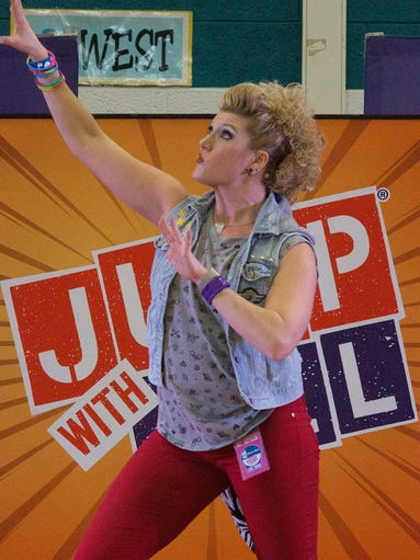 Renee Zelinski teaches kids how to be more active and