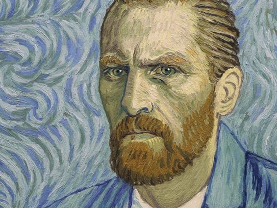"""The hand-painted film """"Loving Vincent"""" is a feast for"""