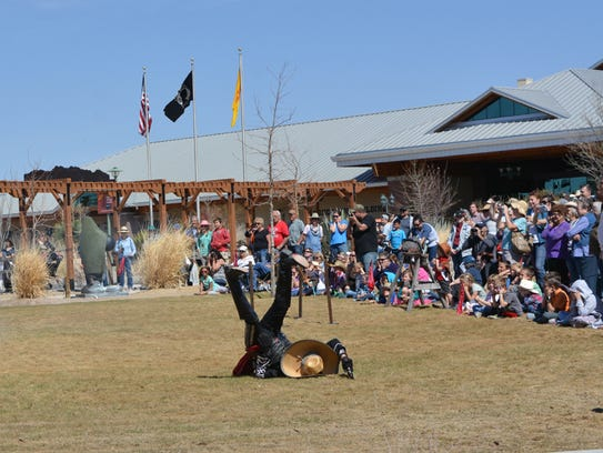 Enchantment Historical Productions will perform gunfight re-enactments at Cowboy Days on Saturday, March 3 and Sunday, March 4 at the New Mexico Farm & Ranch Heritage Museum.
