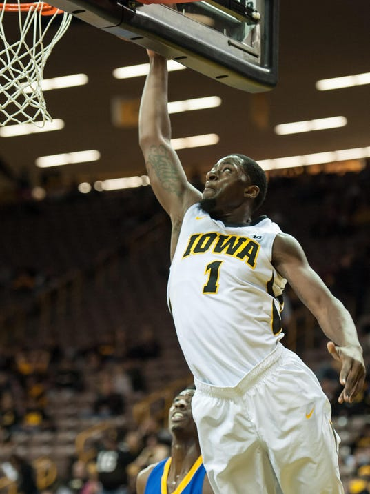 NCAA Basketball: Coppin St. at Iowa