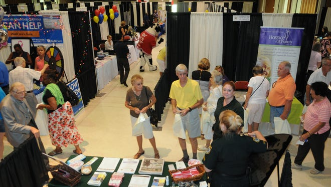 Health fairs are a good place to get various tests and checkups, as well as a place to get your questions answered.