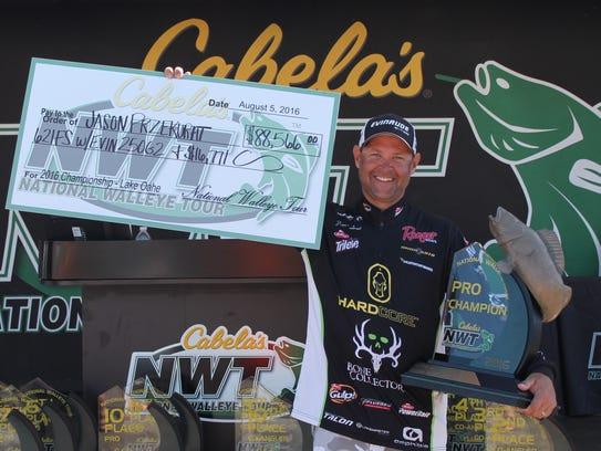 Jason Przekurat won $88,566 and a fully-rigged Ranger