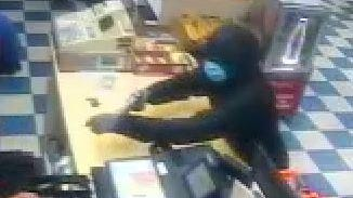 The Cleveland County Sheriff's Office is looking for a person who robbed a store clerk Monday night.