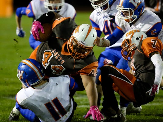 Cumberland football loses to Woodstown
