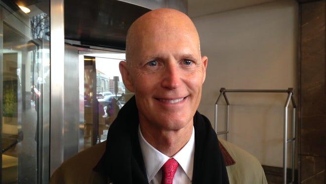 Republican Gov. Rick Scott of Florida