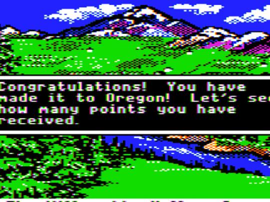 Oregon Trail online game