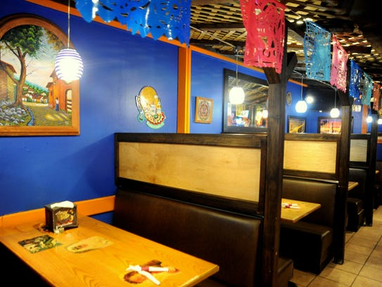 La Casa Azul, the bar in Ole's Guacamole,is named after