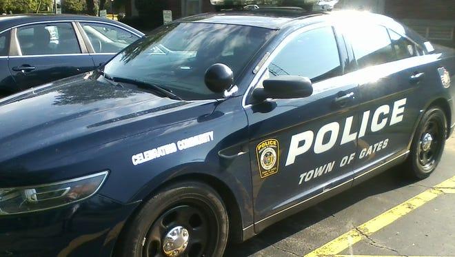 Gates police car