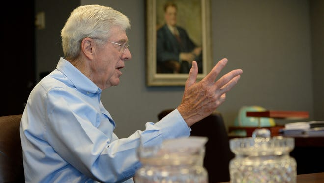 Charles Koch is chairman and CEO of Koch Industries. (Robert Deutsch, USA TODAY)