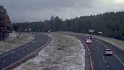 There was a light dusting of snow overnight in Flagstaff late Monday night and early Tuesday morning. According to the National Weather Service in Flagstaff, more snow is expected starting Friday through the weekend.