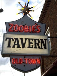 Zoobie's Tavern in Old Town on E. Grand River Ave.