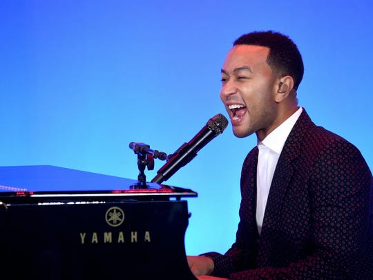 Singer-songwriter John Legend