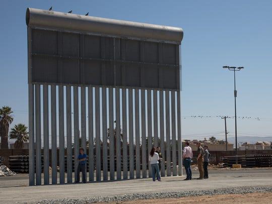 Congressman David Valadao  (R-Hanford) visits border