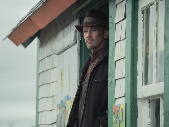 """In """"Maudie,"""" Everett (Ethan Hawke) recognizes the potential"""