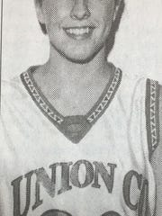 Union County's Kara Willett was named second region Player of the Year in March 2002.