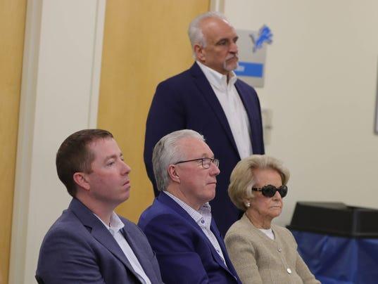 Martha Ford, Bob Quinn, Rod Wood, Bill Keenist