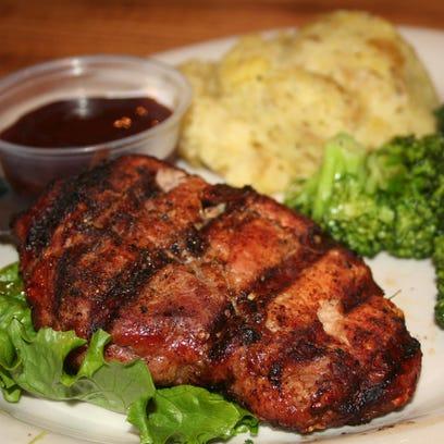 Prime Pork Ribeye includes a specialty barbecue rub