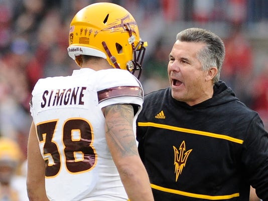 NCAA Football: Arizona State at Washington State