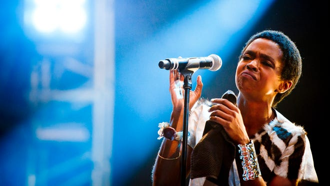 Ms. Lauryn Hill performs during the 2012 OpenAir music festival in Frauenfeld, Switzerland.