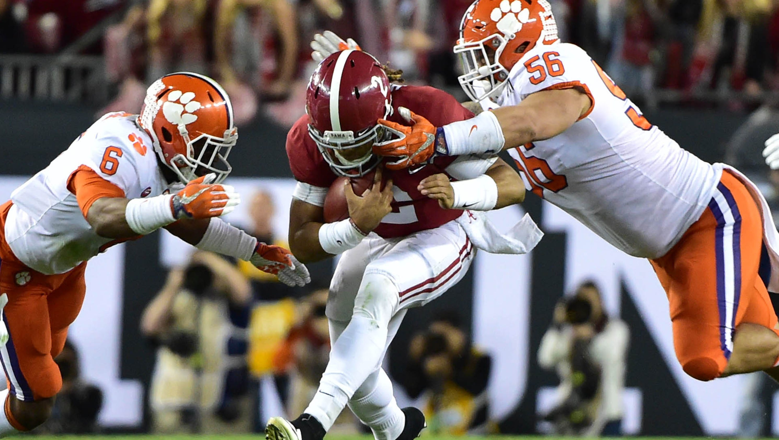 Highlights from the national championship game: Alabama vs ...