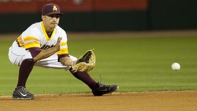Jordan Aboites is expected to start at third base as a senior for Arizona State baseball.