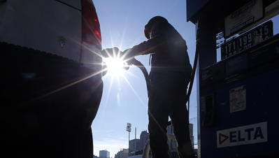 """Canadian drivers are complaining they are being """"hosed"""" or taken advantage of at the gas pump as low oil prices aren't being reflected in the price."""