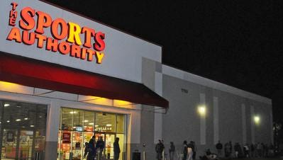 The Sports Authority at 1750 Evans Road in Melbourne is one the list of properties the sporting goods retailer wants to sell.