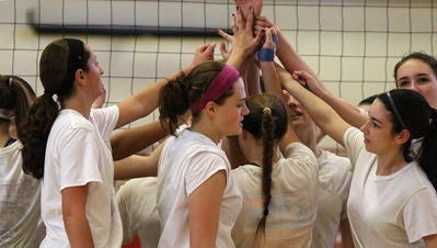 The Hunterdon Central girls volleyball team fell in the Tournament of Champions semifinals on Saturday.
