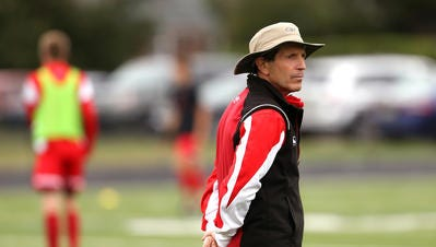 Bernards' Joe LaSpada is the Courier News All-Area Boys Soccer Co-Coach of the Year.