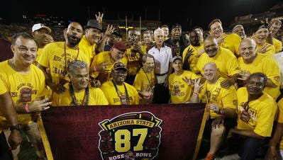 ASU's 1986 Pac-10 championship football team celebrated its 30th anniversary and '87 Rose Bowl win in October.