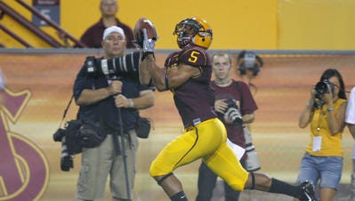 Former Arizona State wide receiver Kerry Taylor said he has joined Oregon State's football staff as quality control coach and will help coach wide receivers