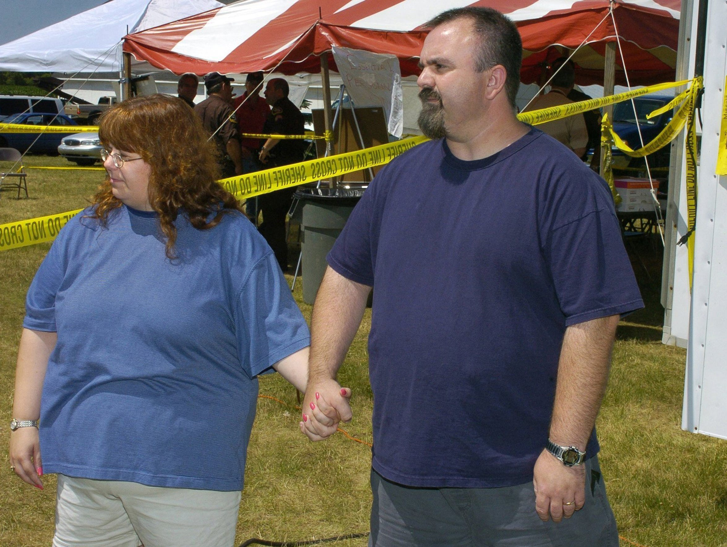 Lisa and Tim Holland are serving prison sentences for