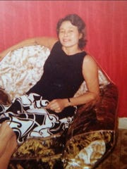 An earlier shot of Diana Rodriguez' mother.