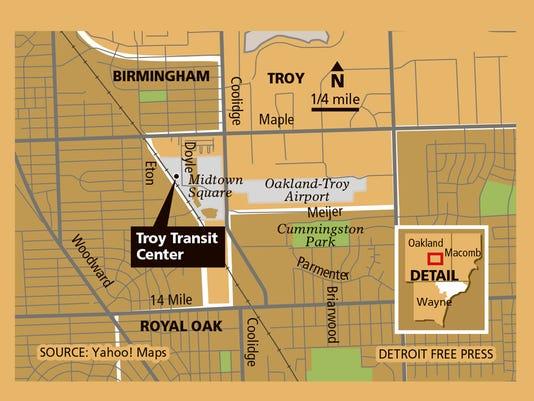 dfp-troy-transit-center-map