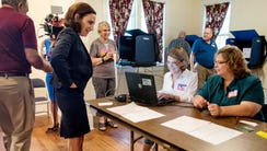 South Carolina Rep. Katie Arrington, who beat incumbent