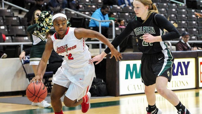 Taylor Sutton, a point guard from Greater Atlanta Christian School in Norcross, Ga., committed to play for the MTSU women's basketball team Saturday.
