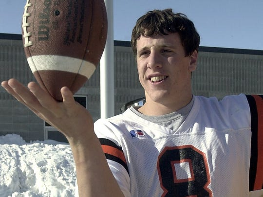 Current Minnesota Vikings linebacker Chad Greenway was the Argus Leader Elite 45 captain in 2000.
