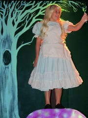 "The Southgate Community Players present ""Alice in Wonderland Jr."" Sept. 23-24 in the Davidson Auditorium."
