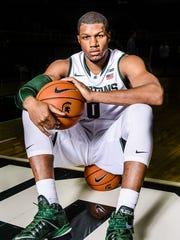 Freshman Marvin Clark Jr. joins the MSU basketball
