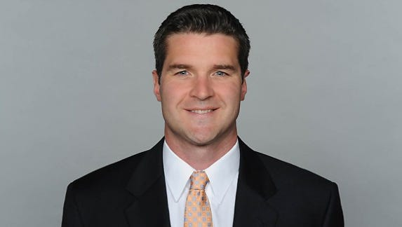Brian Gaine is the Bills' new vice-president of player personnel.