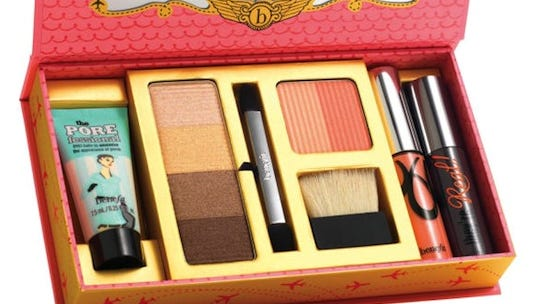 Makeup contains several types of chemicals.