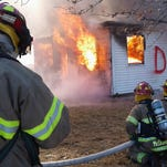 Roaring house gives firefighters real-life training