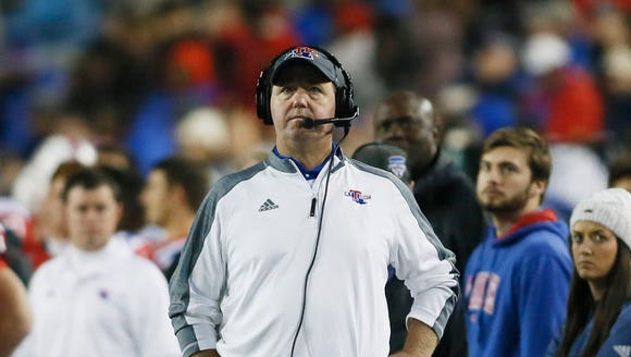 Louisiana Tech coach Skip Holtz weighed in this fall