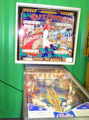 Vintage games like arcade pinball machines are rising in popularity. This Bally's 1976 Captain Fantastic pinball machine recently sold at EJ's Auction & Consignment for $1,250.