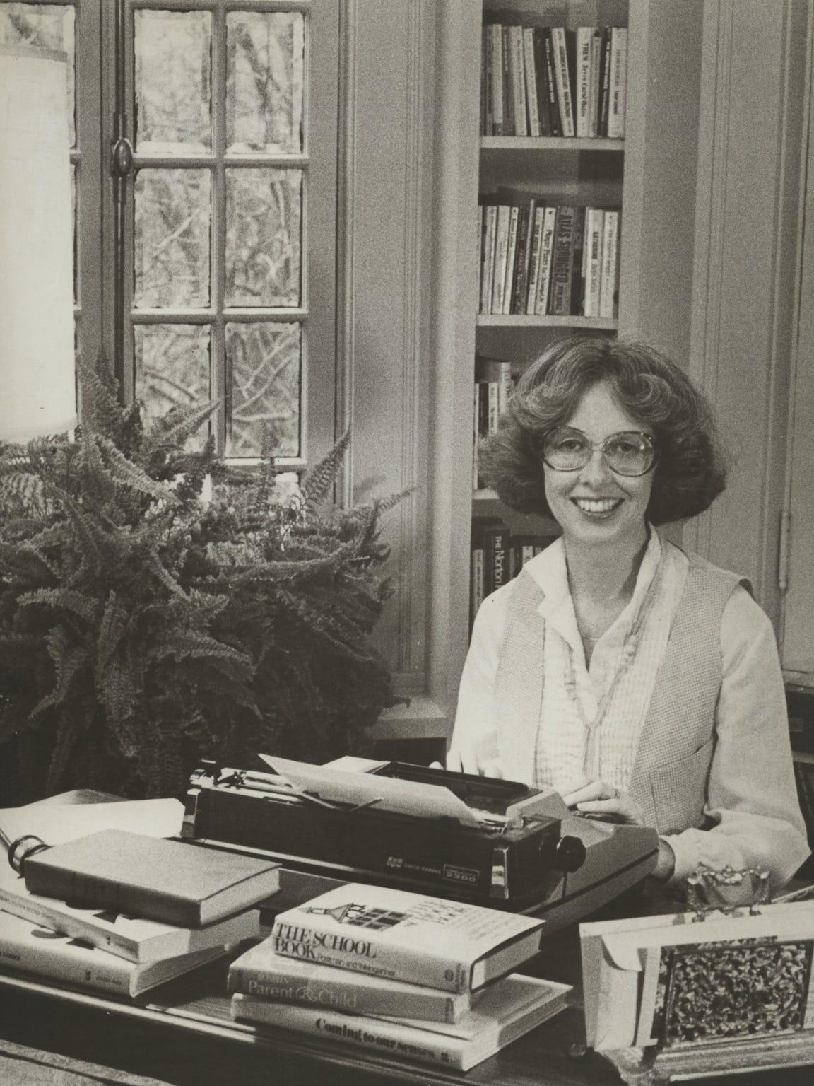 Roseann Bentley, March 1980