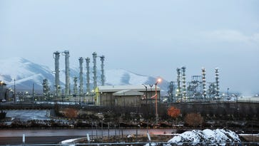 This Jan. 15, 2011 file photo shows Iran's heavy water nuclear facilities near the central city of Arak 150 miles southwest of Tehran.