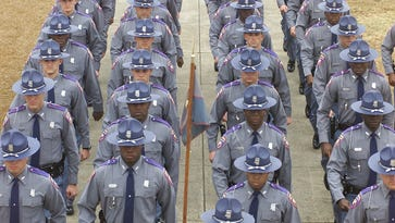 Mississippi is in a vulnerable spot, the governor and others say, because only 489 of the 650 trooper positions allowed by state law are filled. Of those positions, 328 are assigned to the road. To compound problems, 149 troopers are eligible for retirement.