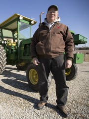 Charles Davis and his family own an 80 acre farm near Westfield.