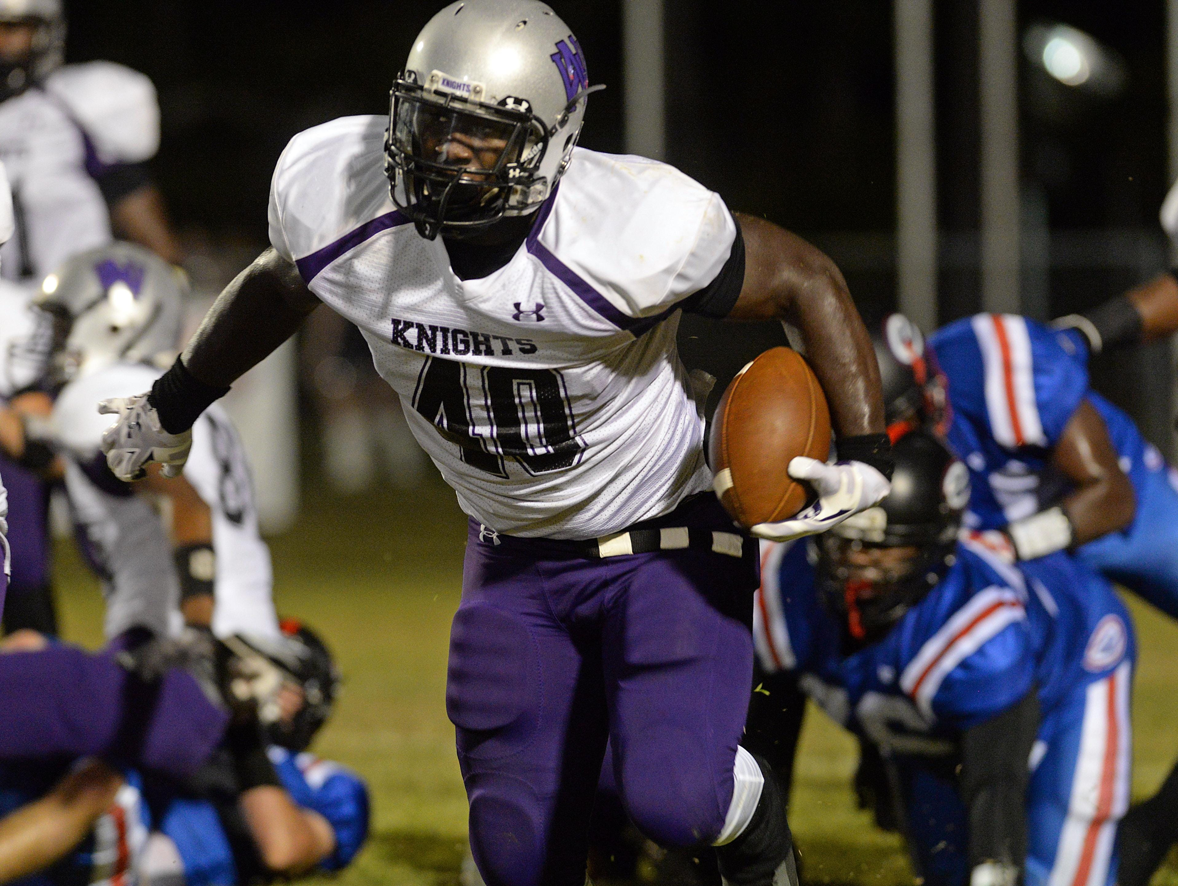 Devin White has yet to make his college choice.