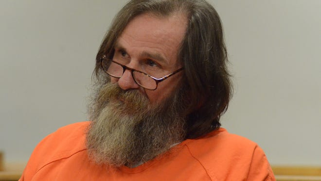 Arthur French listens to the testimony.